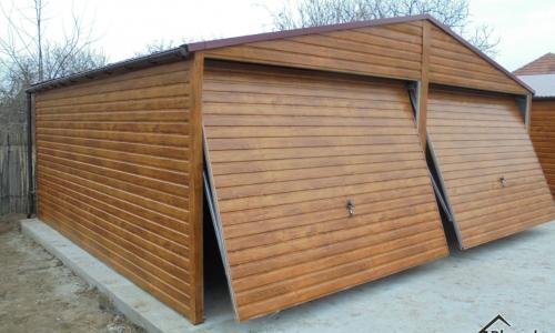 Garaż drewnopodobny - ceny