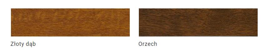 Paleta kolorów drewnopodobnych.